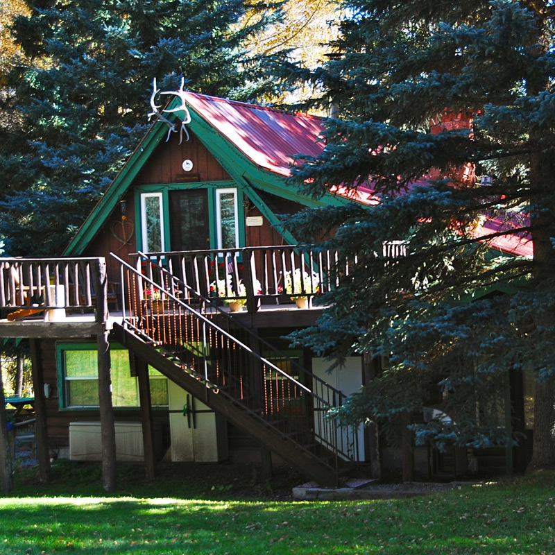 Residential cabins are available for long-term leases