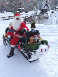 Santa Clause has a new ride!